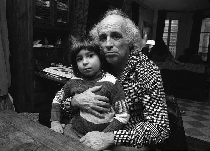 Léo et Mathieu Ferré Chez eux en Toscane en 1976 (MUUS/SIPA / SIPA)