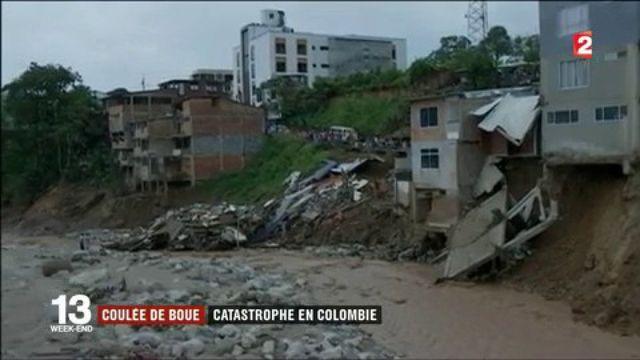 Coulée de boue : catastrophe en Colombie