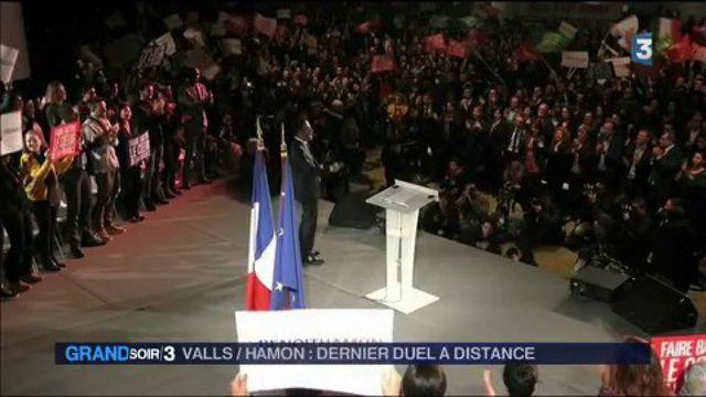 Valls-Hamon : dernier duel à distance