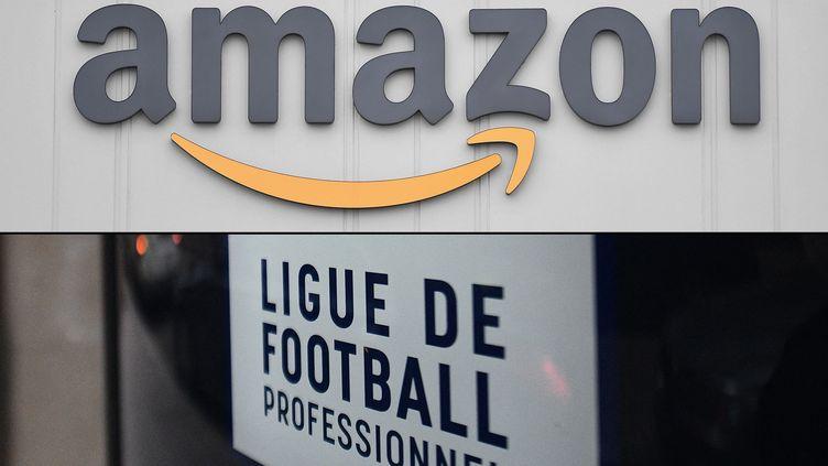 Amazon et la Ligue de Football Professionnel, deux nouveaux partenaires pour la diffusion de la Ligue 1 et de la Ligue 2 (MARTIN BUREAU / AFP)