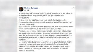 Post sur le compte Facebook de Marlène Schiappa, le 27 mai 2019. (CAPTURE D'ÉCRAN)