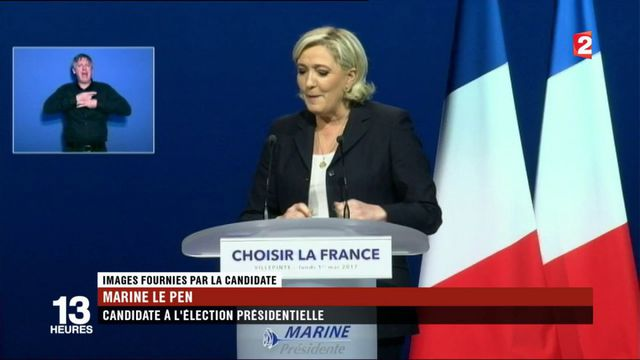 Marine Le Pen : démonstration de force à Villepinte