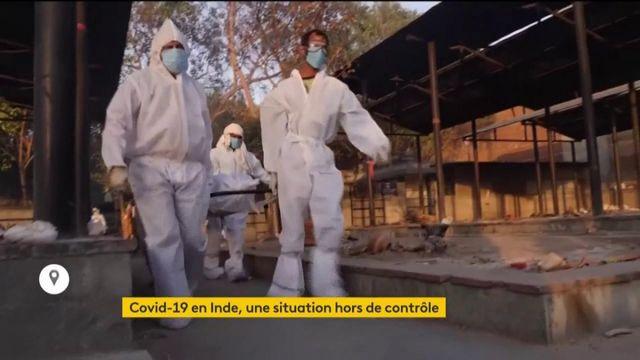Covid-19 : situation alarmante en Inde, totalement débordée par la propagation de l'épidémie