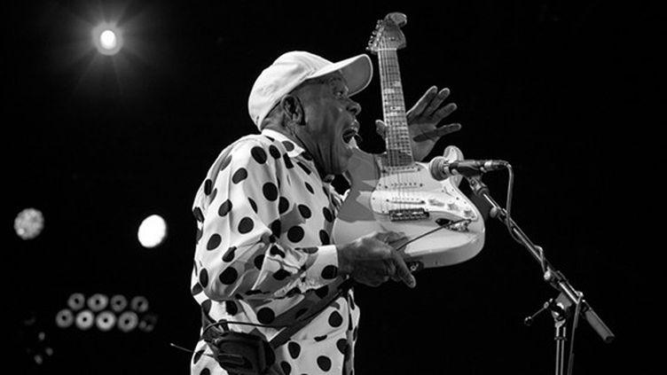 Natif de Louisiane, le guitariste du légendaire label Chess revient au Théâtre Antique avec l'album Born To Play Guitar (2015)  (Marion Tisserand)