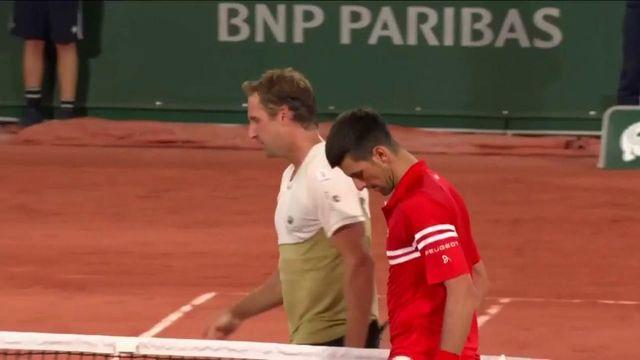 VIDÉO. Roland-Garros 2021 : Revivez les moments forts de la victoire de Novak Djokovic contre Tennys Sandgren au 1er tour