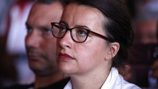 Cécile Duflot, députée EELV de Paris. (THOMAS SAMSON / AFP)
