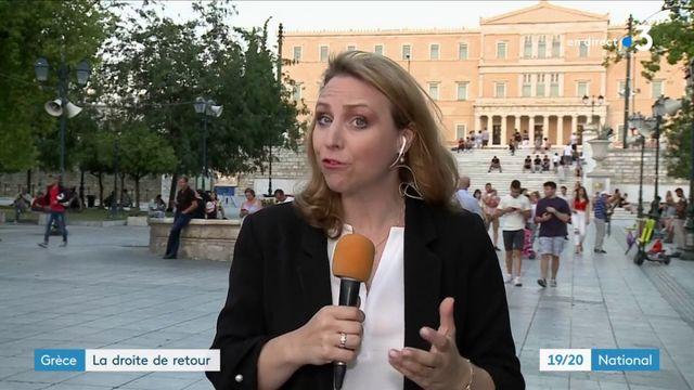 Grèce :  Kyriakos Mitsotakis remporte les élections legislatives