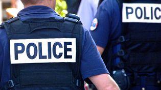 La quasi totalité des policiers nationaux de Narbonne (Aude) sont en arrêt maladie, mardi 26 septembre. Ici, lors d'une manifestation à Toulouse en 2012. (MAXPPP)