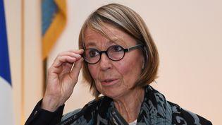 """La ministre de la Culture Françoise Nyssen a """"pris acte"""" de la décision d'Edouard Philippe et continuera à exercer ses autres fonctions  (Eric FEFERBERG / AFP)"""