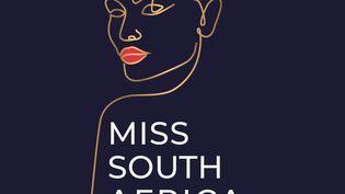 """Logotype du concours national de beauté sud-africain, """"Miss South Africa"""" (MISS SOUTH AFRICA)"""