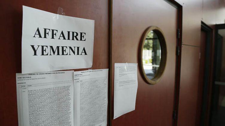 (Salle d'audience de l'affaire Yemenia à Aix-en-Provence © Maxppp)