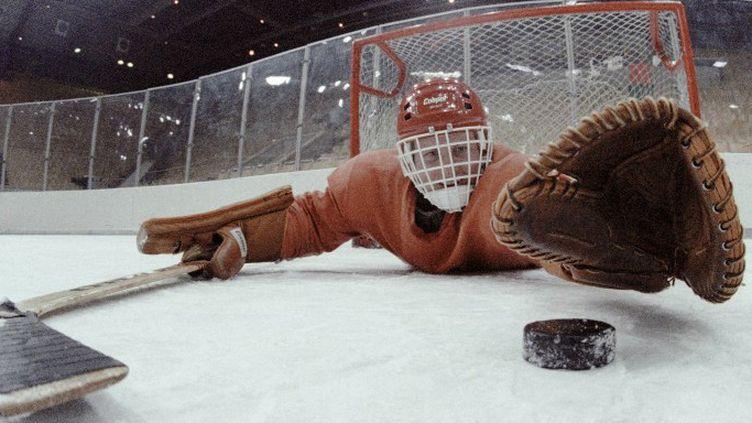 Le gardien de hockey et tout son attirail  (DONSKOY DMITRYI / RIA NOVOSTI)