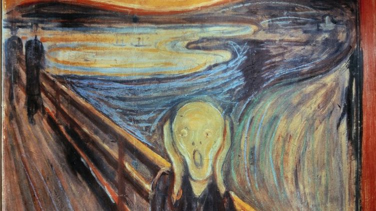 "Le tableau ""Le Cri"" d'Edvard Munch, peint en 1893. (PHOTO JOSSE)"