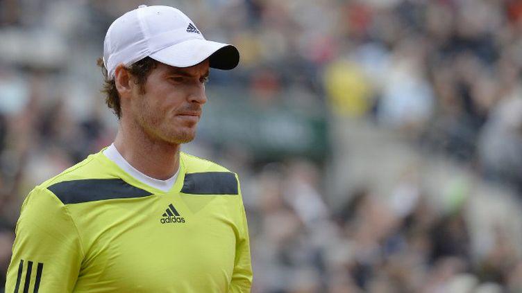 Andy Murray a laissé échapper un set face à Andrey Golubev (MIGUEL MEDINA / AFP)