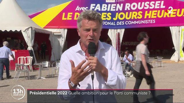"""Présidentielle 2022 : le candidat communiste Fabien Roussel veut """"être le président qui portera un pacte pour la jeunesse"""""""