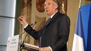 François Bayrou, ministre de la Justice, a présenté sa loi sur la moralisation de la vie politique ce jeudi. (FRANCOIS GUILLOT / AFP)