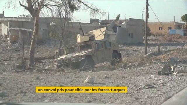 Syrie : un convoi de civils kurdes et de journalistes attaqués par la Turquie