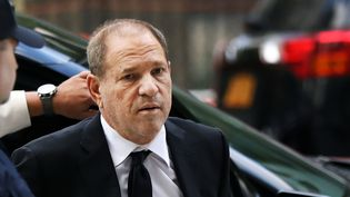 Harvey Weinstein, à New York, le 26 août 2019.  (SPENCER PLATT / GETTY IMAGES NORTH AMERICA / AFP)