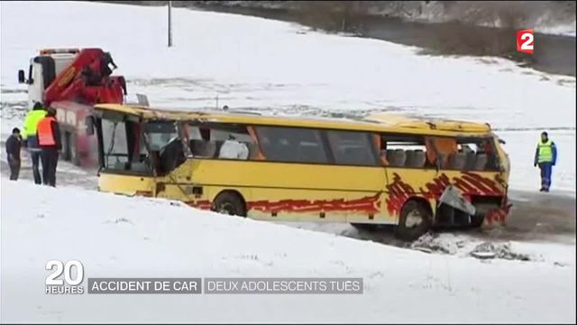 Accident de bus : la vitesse excessive mise en cause