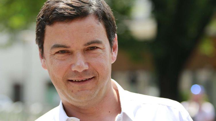 (Thomas Piketty en mai 2015, lors du festival international d'économie de Trento, Italie © MAXPPP)