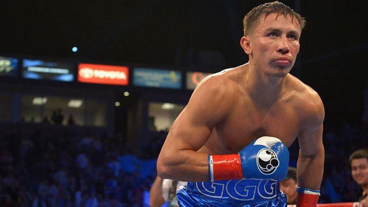Le boxeur kazakh Gennady Golovkin
