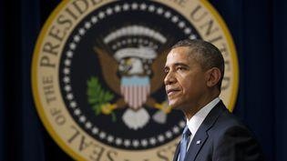 Le président américain, Barack Obama, à Washington (Etats-unis), le 19 mars 2014. (SAUL LOEB / AFP)