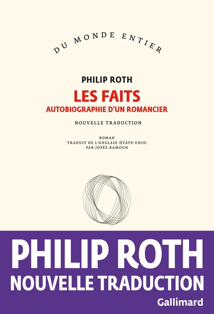 """Couverture """"Les Faits"""", de Philip Roth, mai 2020 (GALLIMARD)"""