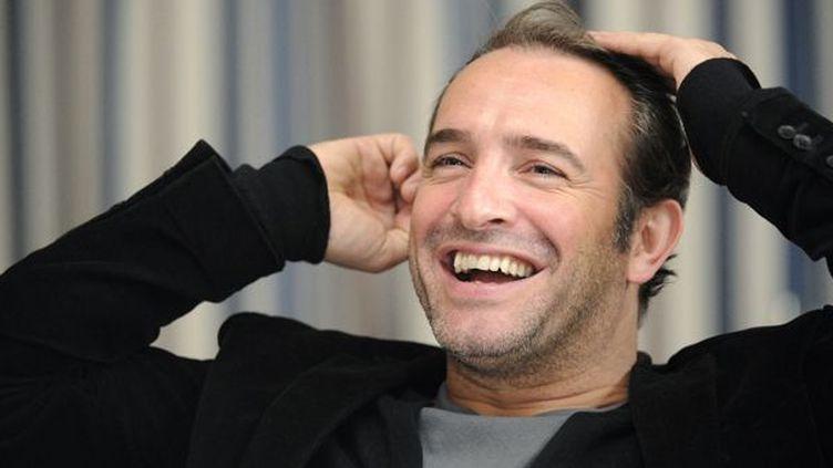 Jean Dujardin à Rennes le 16 février 2012  (AFP / Damien Meyer)