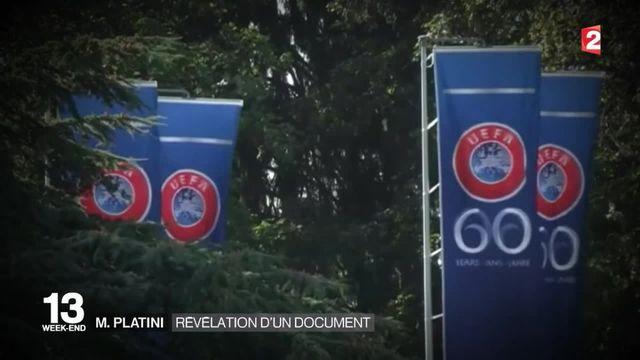 Michel Platini : un document pourrait l'innocenter