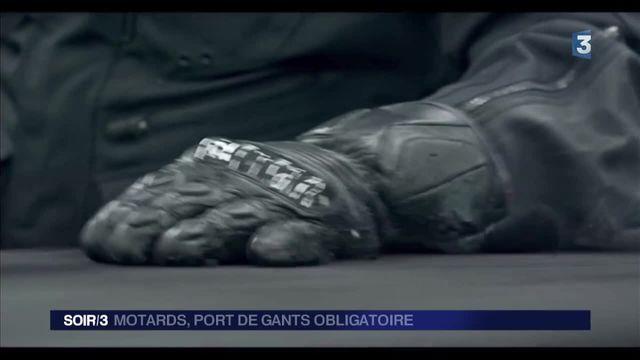 Deux-roues : le port de gants désormais obligatoire