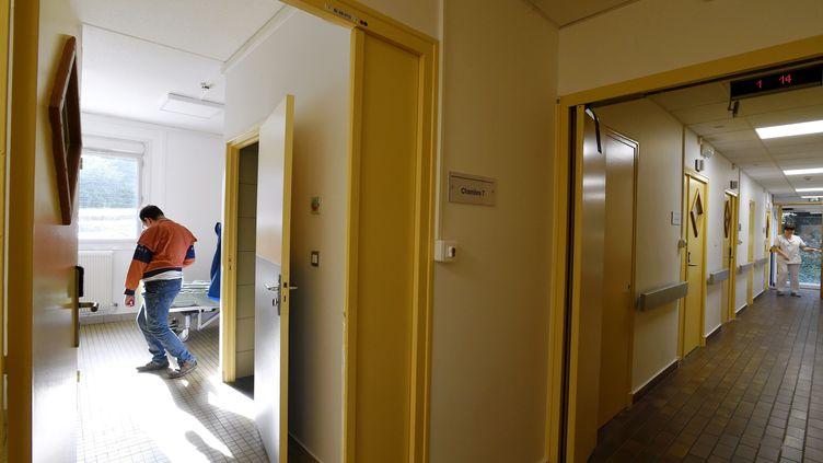L'unité d'accueil des urgences psychiatriques, à Nancy. (ALEXANDRE MARCHI / MAXPPP)