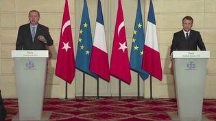 ENVOYÉ SPÉCIAL / FRANCE 2 Erdogan Macron (ENVOYÉ SPÉCIAL  / FRANCE 2)