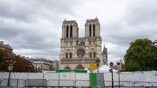 La cathédrale Notre-Dame de Paris, le 4 septembre 2019. (JULIETTE AVICE / HANS LUCAS / AFP)