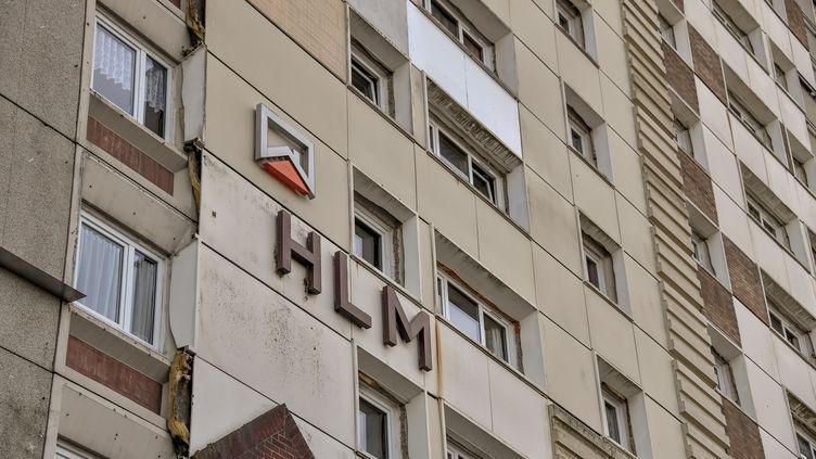 755 organismes HLM gèrent en France 4,3 millions de logements sociaux -chiffres 2016- (PHILIPPE HUGUEN / AFP)