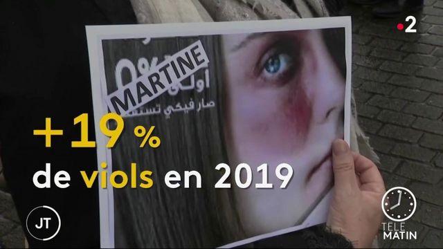 Les violences sexuelles en hausse en 2019