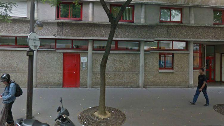Un nourrisson d'un mois est mort, le 16 septembre 2012, dans cette pouponnière gérée par la ville de Paris, dans le 13e arrondissement. (GOOGLE MAPS / FRANCETV INFO )