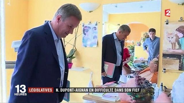 Législatives : Nicolas Dupont-Aignan en difficulté dans son fief