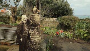 Le jardin de la maison de Victor Hugo à Guernesey. (France 3)