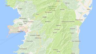 La victime, âgée de 50 ans, a été la cible de deux tireurs lundi 29 mai 2017 au niveau d'un parking situé dans le quartier Saint-Joseph à Ajaccio (Corse-du-Sud). (GOOGLE MAPS)