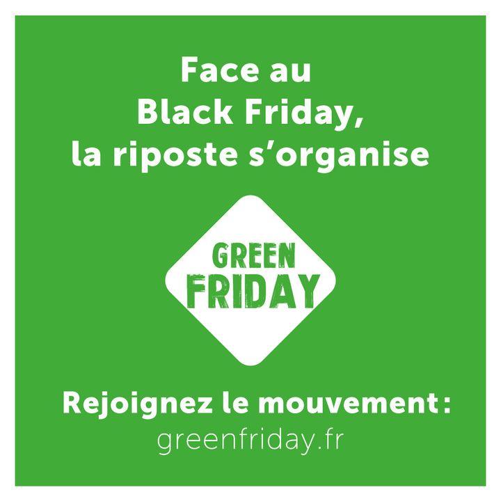 Logo de la campagne Green Friday (GREEN FRIDAY)
