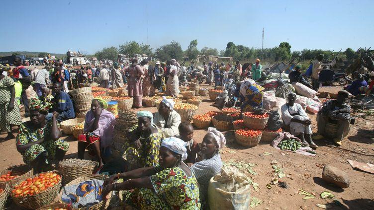 Le nombre de réfugiés chassés par la guerre au Mali approche les 150 000 personnes dans les pays voisins, a annoncé l'ONU le 15 janvier 2013. (MARK TOWNSEND / THE GUARDIAN / SIPA)