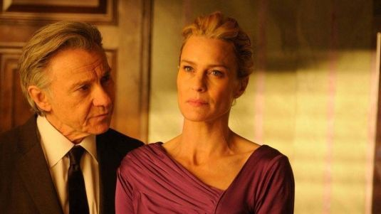 "Harvey Keitel et Robin Wright dans ""The congress""  (DR)"