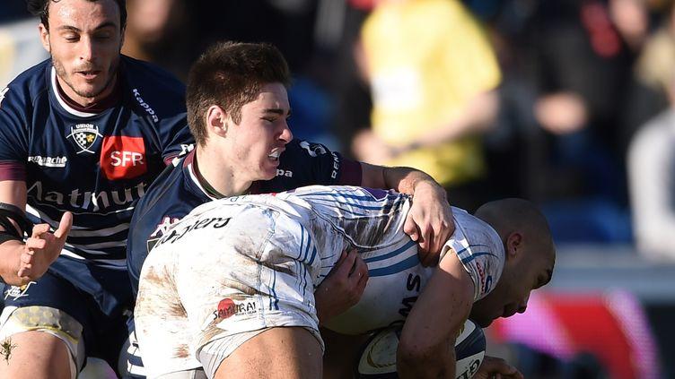 Les Bordelais ont essayé mais n'ont pas pu franchir le match d'Exeter (NICOLAS TUCAT / AFP)