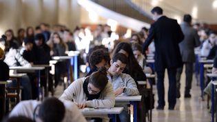 Etudiants à l'université de la Timone, à Marseille (Bouches-du-Rhône), le 11 décembre 2012. (ANNE-CHRISTINE POUJOULAT / AFP)