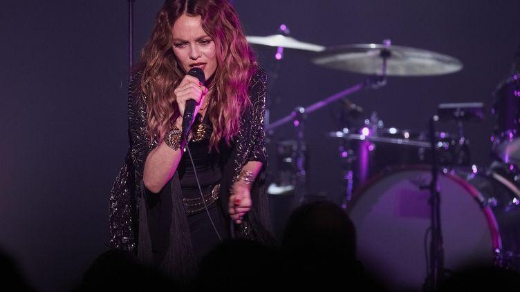 La chanteuse et comédienne Vanessa Paradis, le 7 novembre 2019 à Nancy (Meurthe-et-Moselle). (MAXPPP)