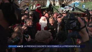 Les femmes sont peu nombreuses dans la campagne pour l'élection présidentielle. (France 3)