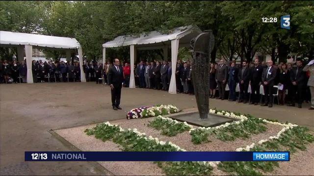 Hommage national aux victimes du terrorisme aux Invalides