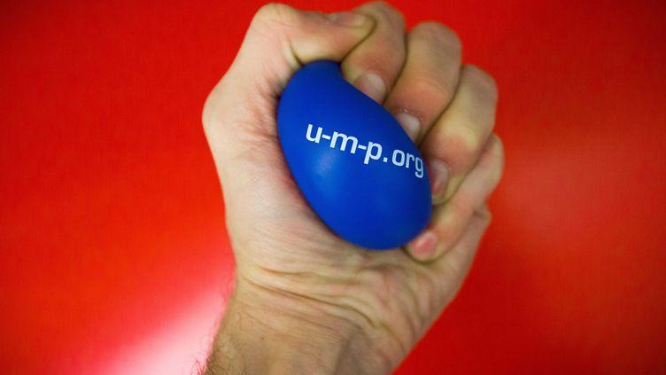 Dans la guerre pour la présidence de l'UMP, la balle change de camp si vite que de plus en plus d'élus UMP choisissent leur propre voix. (REVELLI-BEAUMONT / SIPA)