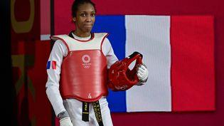 Althéa Laurin est proche d'une médaille aux Jeux de Tokyo, le 27 juillet 2021. (JAVIER SORIANO / AFP)