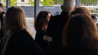 Des magistrats au tribunal de grande instance de Nantes. (ESTELLE RUIZ / HANS LUCAS)
